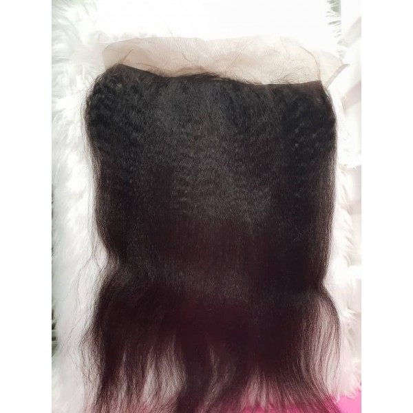 Kinky Straight Wave Frontals