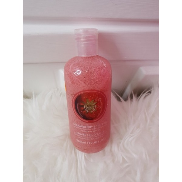 Strawberry Scrub Gel 500ml